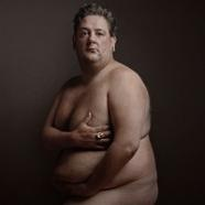 Johnny Vegas has made it on to the wall of the National Portrait Gallery - after stripping to recreate Demi Moore's famous 1991 pose.  The gallery has acquired portraits of Vegas, Matt Lucas, Jimmy Carr and other comedians as part of a display charting 70 years of British comedy heroes.