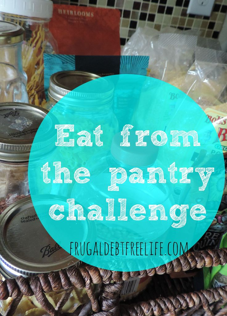 September No Spend challenge + Eating from the pantry