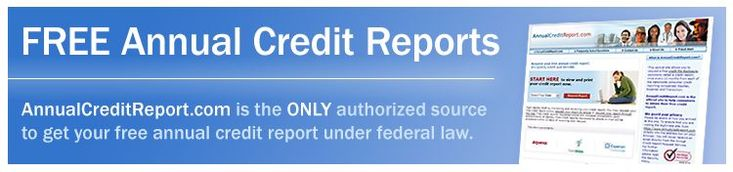 Free (legitimately free) annual credit report.  It's a .gov site so you know it should be credible.