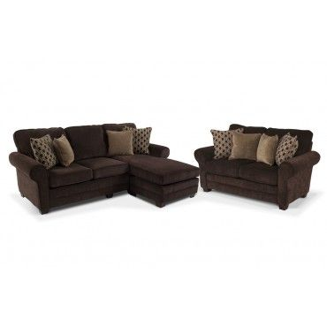 Maggie Chaise Sofa 2 Piece Set Chaise Can Be Made Back