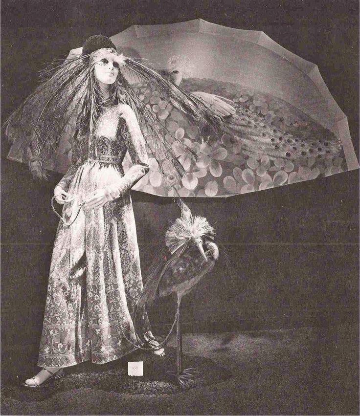 """BERGDORF GOODMAN, New York, """"The Peacock Revealed"""", pinned by Ton van der Veer"""