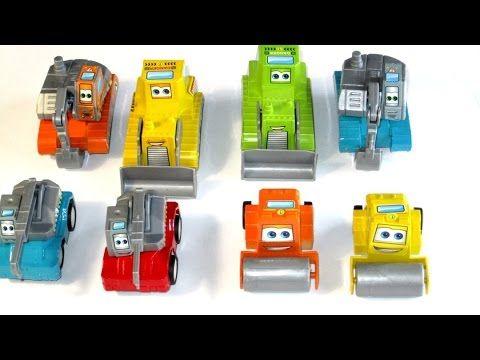 Рабочая техника. Игрушечные машинки. Toys for children