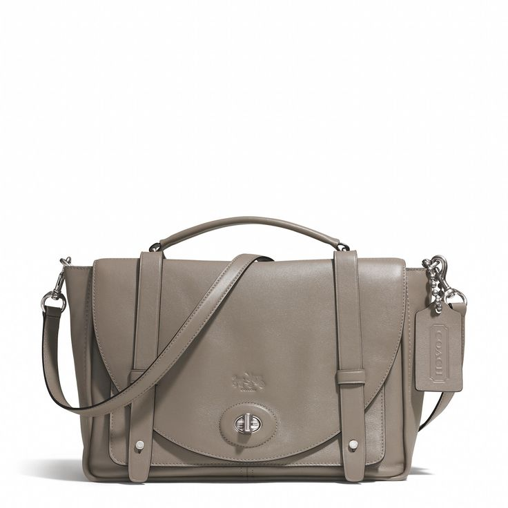 Bleecker Brooklyn Messenger in Leather Coach � Discount Coach BagsCoach ...