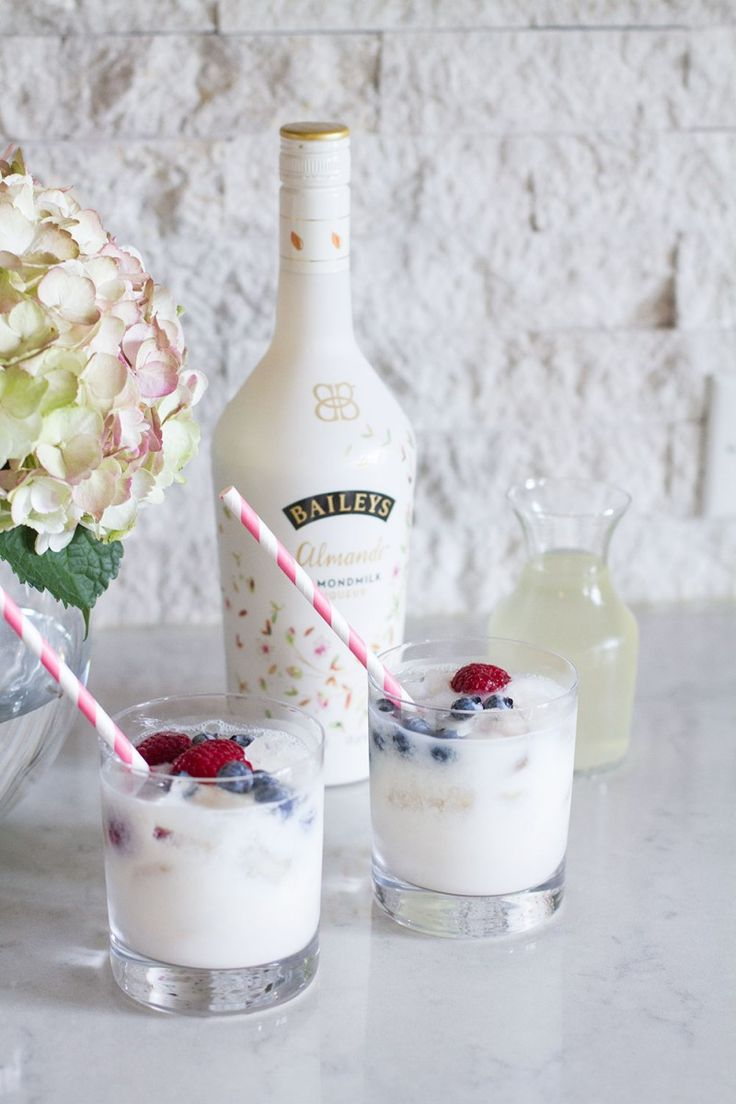 Baileys Almande Refresh Cocktail - Dairy and Gluten Free