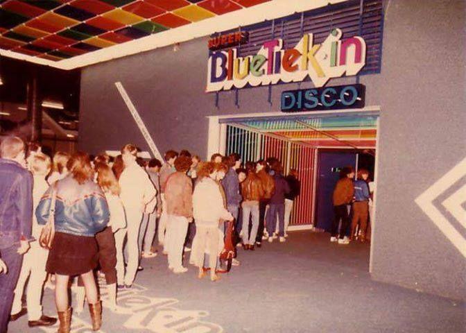 Rotterdam - Discotheek BlueTiekin