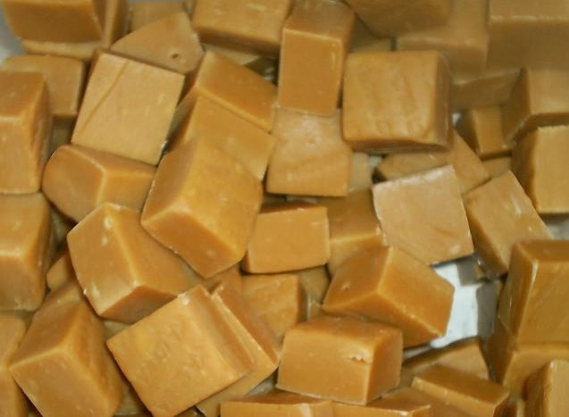 Fudge pieces