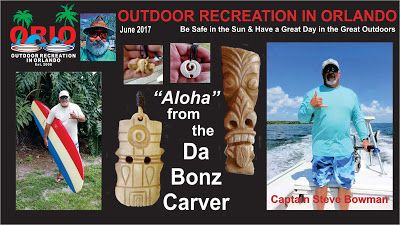 Outdoor Recreation In Orlando: The Bonz Carver has new carving to share