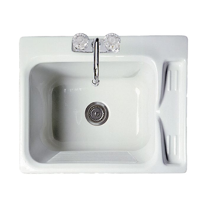 $241 - Shop Acri-tec Industries Acri-Tec Industries 11021 Acrylic Deluxe Laundry Sink at Lowe's Canada. Find our selection of laundry tubs & faucets at the lowest price guaranteed with price match + 10% off.