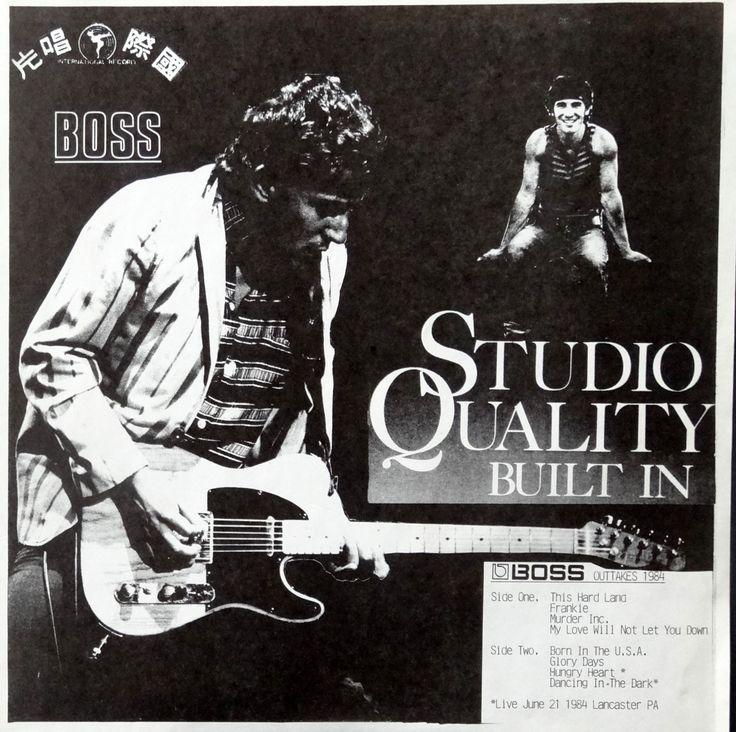 From the Stacks Bruce Springsteen — Studio Quality Built