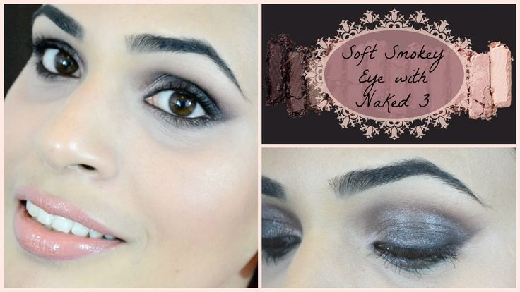 Soft smokey eye with naked 3 by urban decay.... Watch on youtube on my channel Makeupbydamselshine  XoXo
