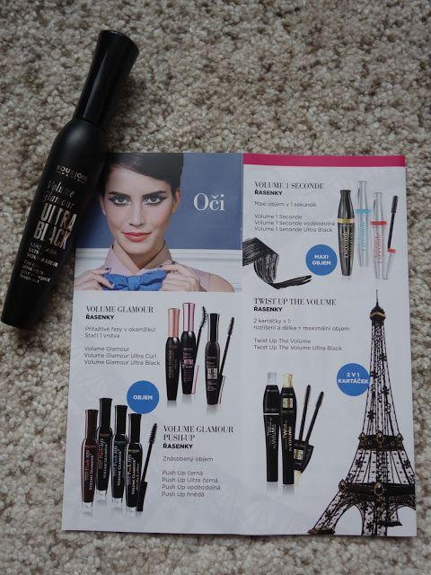All my cosmetics: Řasenka Bourjois - nově k dostání v DM drogeriích