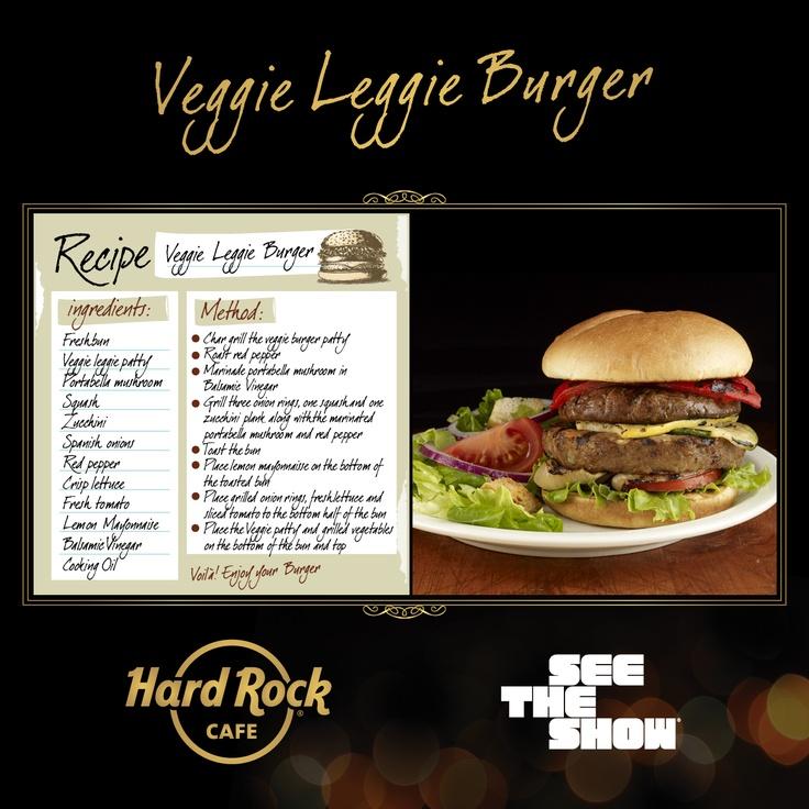 Hard Rock Cafe Veggie Leggie Recipe
