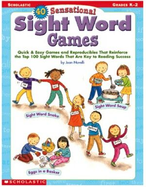 40 Sensational Sight Word Games | 40 Sensational Sight Word GamesHelp kids learn sight words and become better readers with easy games like Sight Word Soup, Magic Wand Words, Simon Says Sight Words! | NestLearning.com