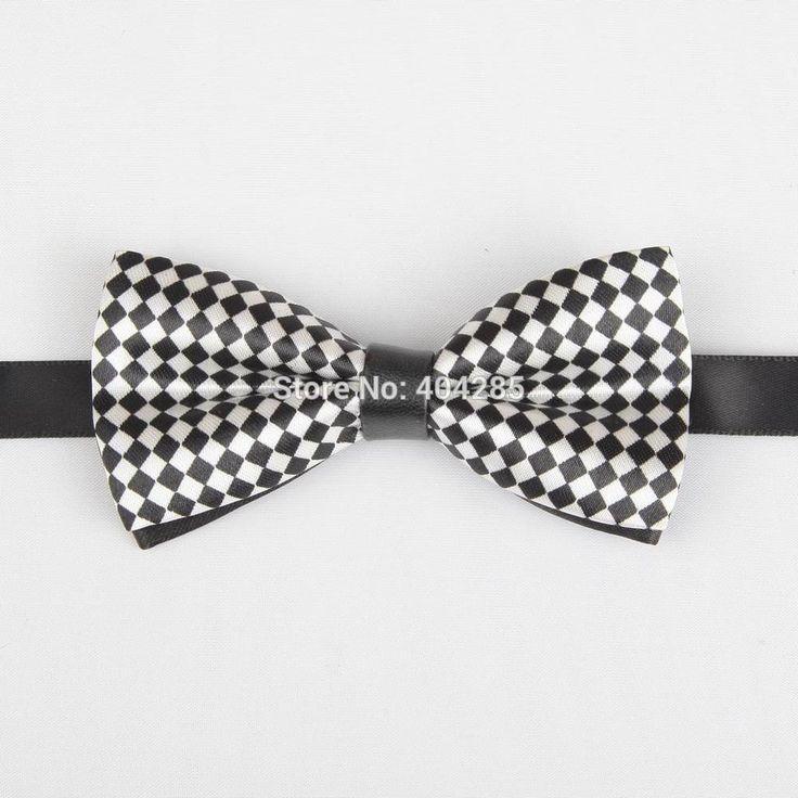 ПУ печати детские боути pattern мальчики натянутого лука бабочки дети подарок полосатые галстуки с точкой для детей галстук