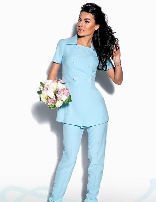 91a6d4f3c04 Красивые женские деловые костюмы 2018-2019 - фото