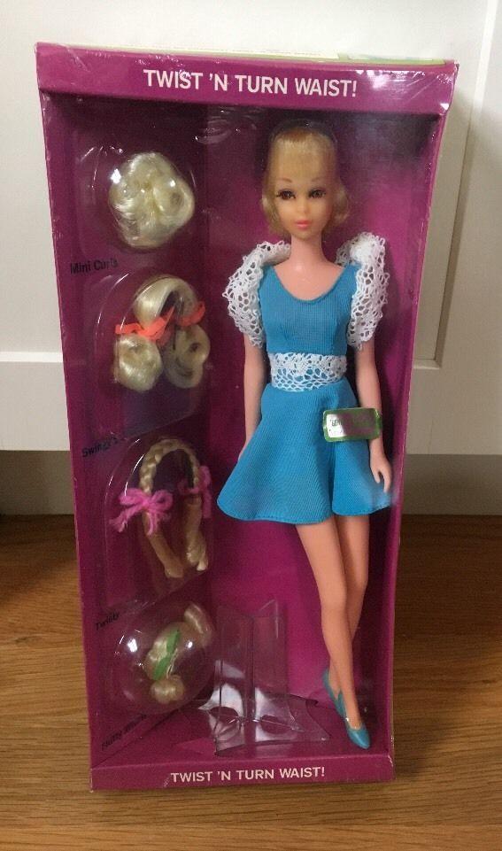 1970 Vintage NRFB Hair Happenin's Francie Barbie Doll 1122 Original Box MINT #Mattel #DollswithClothingAccessories