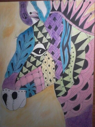 #zentangle #color