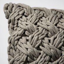 Chunky Knit Cushion