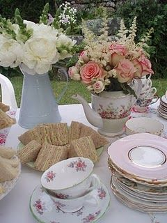 tea party baby shower ideas