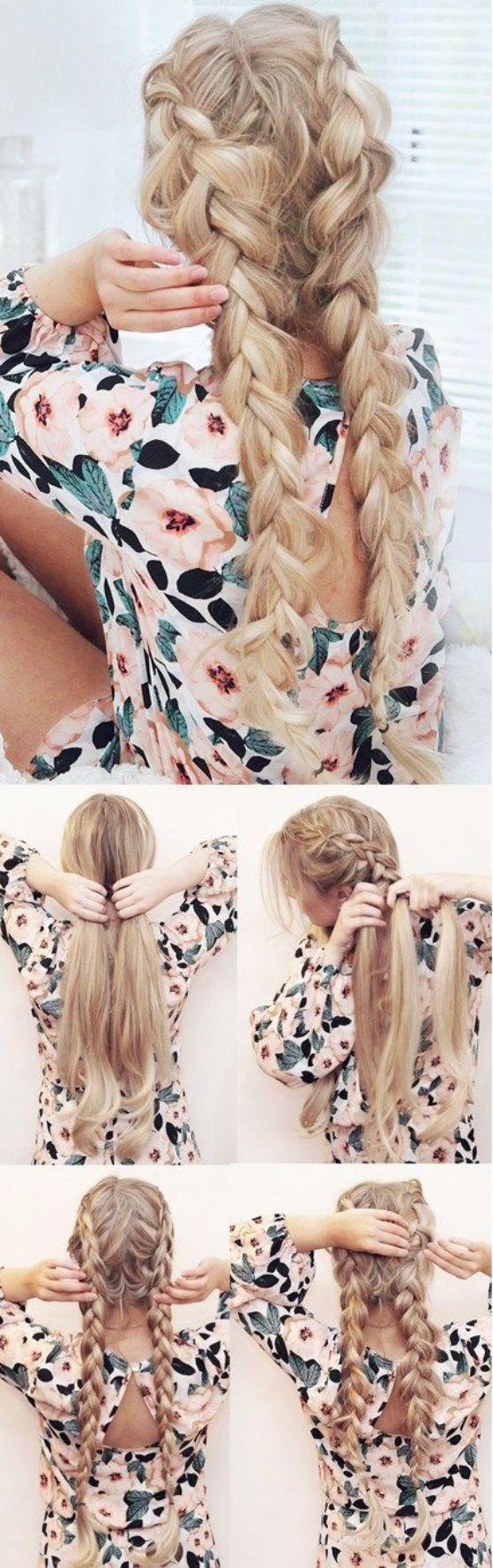 peinado doble trenza tutorial