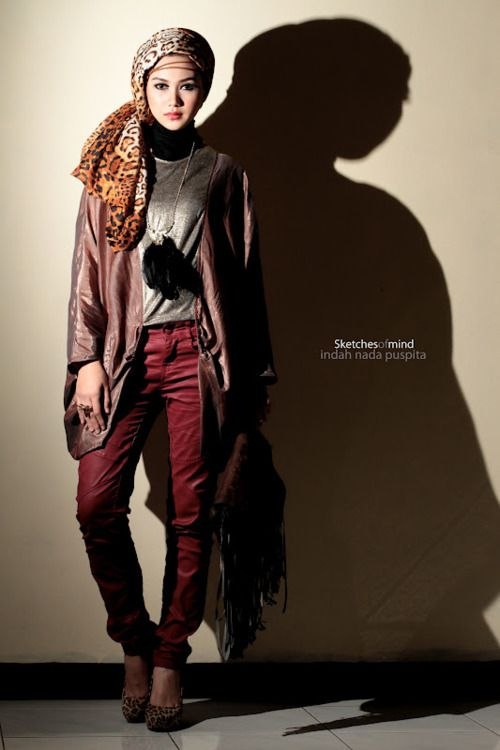 I would so wear that. #hijab