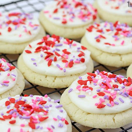 Valentine's Day Sugar Cookies | Bars/cookies | Pinterest