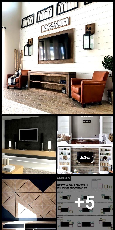 26 Ideas Wall Paper Accent Wall Livingroom Behind Tv Wallp