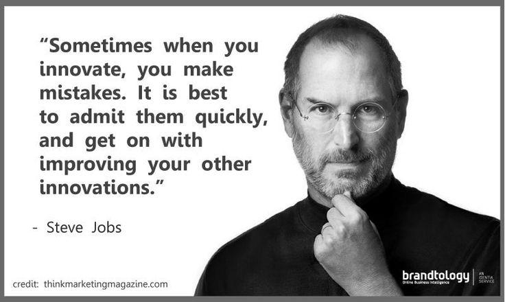 Steve Jobs Innovation Quote