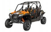 2014 Polaris Industries RZR® 4 900 EPS - Orange Madness LE