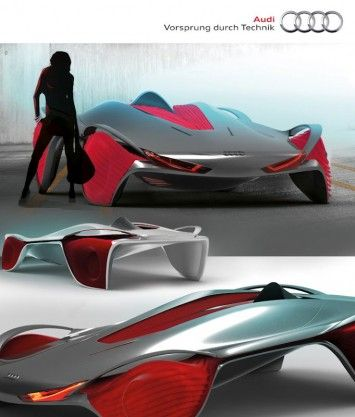 Audi Epiphany Concept by Shihan Pi and Yjing Zhang - Design Panel