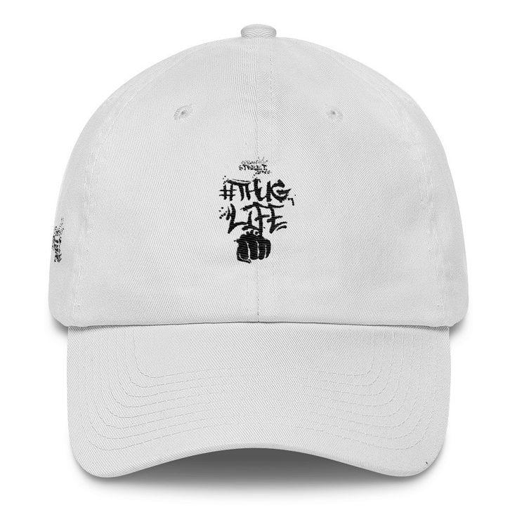 Thug Life Cap by Urban Street Zone (White)