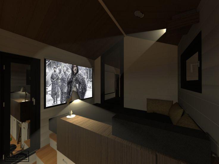 CONCEPT COUCHAGE SALON Couchage 140 x 190 cm TinyPandorra Pinterest - doublage des murs interieurs