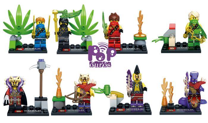 2015 New Arrival 8pcs/lot ABS Ninja Building Blocks Ninja Thunder Swordsman Minifigures DIY Educational Bricks Toys For Children //Price: $US $15.80 & FREE Shipping //     #clknetwork