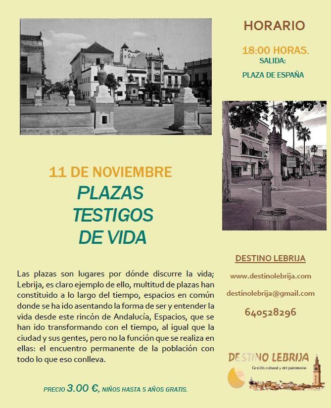 Buenos días !! A tod@s los inscritos para la ruta de esta tarde, nos vemos a las 18:00 horas en Plaza de España. Quien no tenga reserva, la puede hacer allí mismo antes de comenzar la ruta.