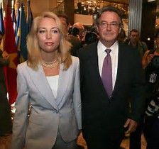 Ambassador Joe Wilson and his wife CIA operative Valerie Plame
