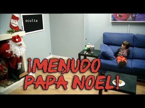 Papá Noel visita a estos niños pero es interrumpido por un adulto, ¿guardarán el secreto?   Upsocl
