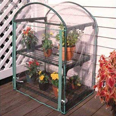 Juliana Greenhouses 2-Tier Growing Rack Season Extender Greenhouse. $38