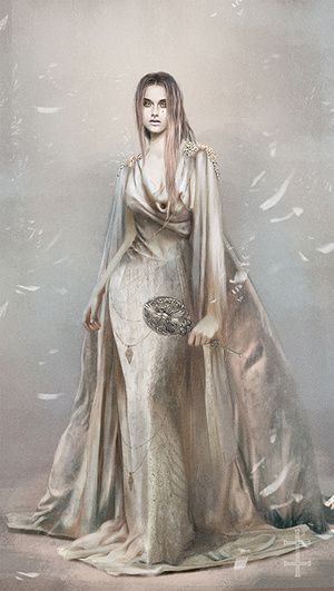 Jophiel -by Eve Ventrue a digital artist from Germany who works mainly in Photoshop with a focus on cutting edge sci-fi/fantasy, including the steampunk, space opera and paranormal romance genres.