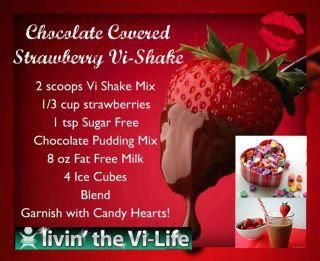 Vi-Shape Chocolate Covered Strawberries