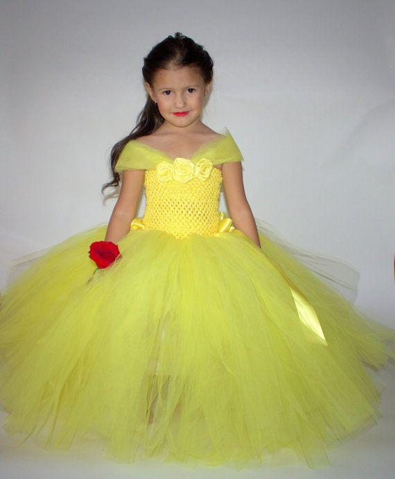 Disney Princess Belle Dress...Belle by TutullyCuteDesigns on Etsy, $50.00