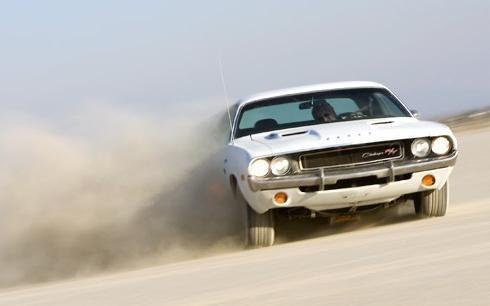 vanishing point challenger desert | ... cars: 1970 Dodge Challenger R/T from Vanishing Point (1971