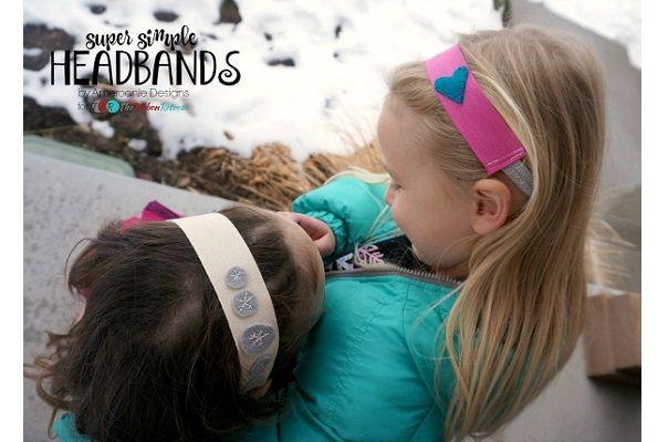 Tutorial: Cute and simple ribbon headbands