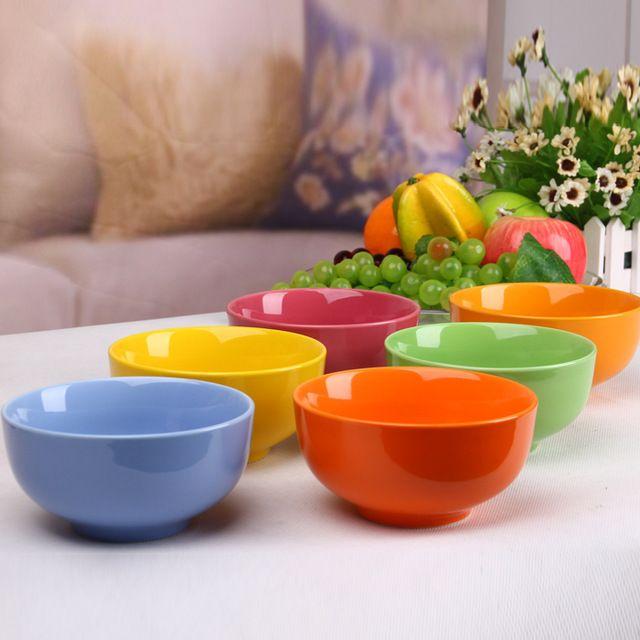 Huishoudelijke bestek eetstokjes thuis effen kom kind kleur pak Chinese rijst