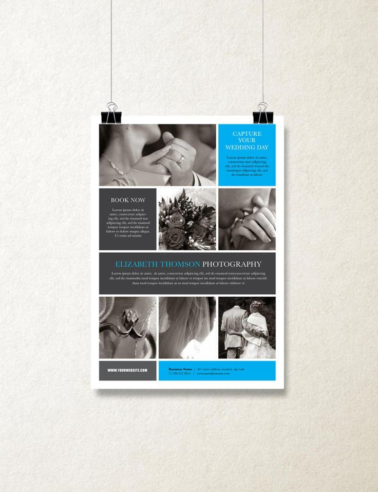 """Single Page Brochure Template - """"Orion"""""""