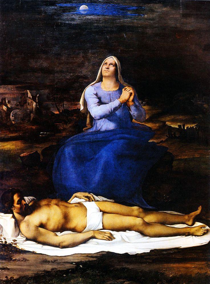 Sebastiano del Piombo - Pietà - 1515-1516