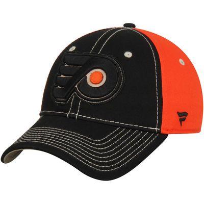 Philadelphia Flyers Impact Slider Adjustable Hat - Black/Orange