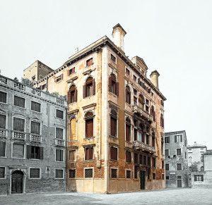 Palazzo Abrizzi Façade on the campiello