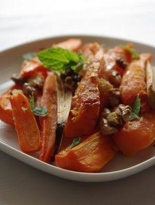 Sült répa saláta