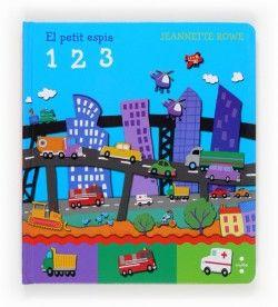 Llibre per aprendre els nombres i situar objectes dins d'una escena, amb il·lustracions atractives i de colors vius.