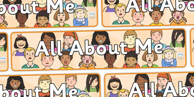 Twinkl Resources >> All About Me Display Banner >> Thousands of printable primary teaching resources for EYFS, KS1, KS2 and beyond! ourselves display, KS1, display banner, ourselves, all about me, my body, senses, emotions, family, body, growth, display banner,